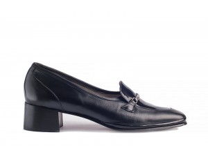 Barker Bik Black Loafer