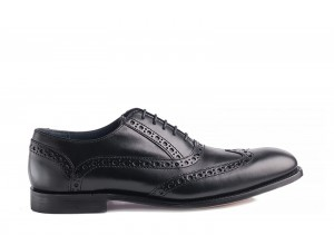 Barker Grant Black Oxford
