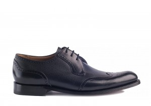 Barker Weymouth Black Grain Derby