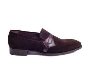 Carlos Santos 123 Dark Brown Suede