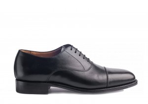 Carlos Santos 6866 Black Oxford