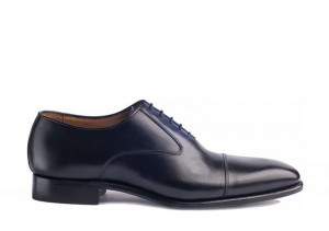 Carlos Santos 7905 Black Oxford