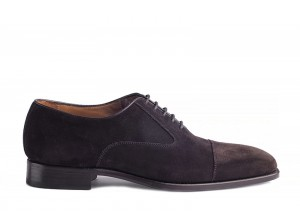 Carlos Santos 7905 Brown Suede Oxford