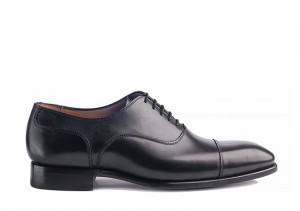 Carlos Santos 8280 Black Oxford
