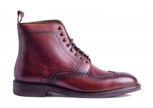 Carlos Santos 8922 Wine Shadow Boot