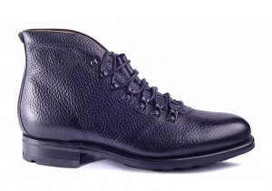 Carlos Santos 9574 Black Grain Boot