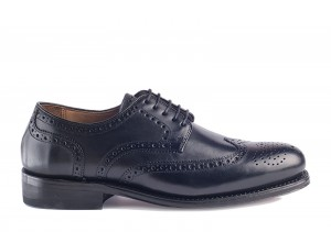 Gordon and Bros 2318 Black Derby