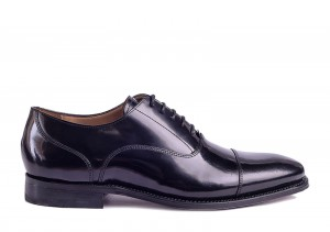 Gordon and Bros 5092 Black Patent Oxford
