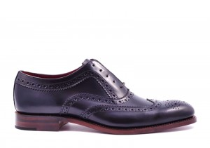 Loake Fearnley Black Oxford
