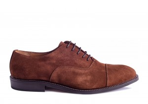 Partigiani 7748  Brown Suede Oxford