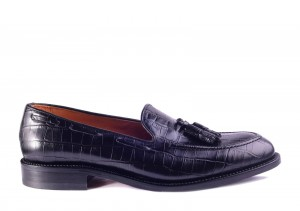 Partigiani 7746 Black Loafer