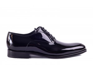 Partigiani 44053 Black Patent Oxford