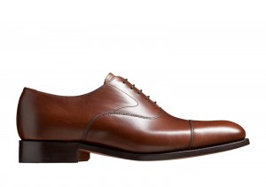 Barker Malvern Dark Walnut Calf Oxford