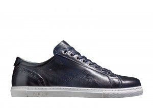 Barker Ethan Navy Hand Paint Sneakers