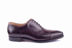 Barker Wright Dark Walnut Calf