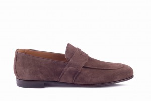 Partigiani 7560 Chocolate Loafer