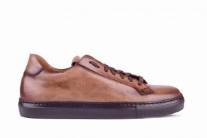 Partigiani 7556 C/2903 Brown Sneakers