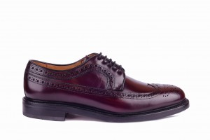 Berwick 3681 Burgundy Derby