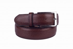 Pasek Berwick Country Calf Dark Brown
