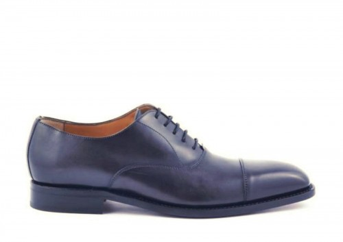 Berwick ,2428 ,Grey Calf ,Oxford, Szary, Goodyear Welted ,handmade,