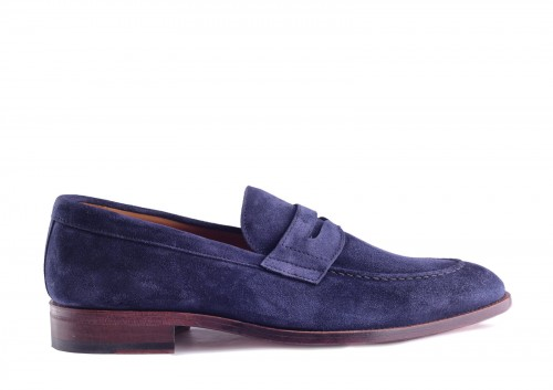 Berwick 3016 Florence Navy Loafer, penny loafer