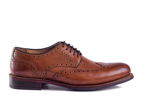 Gordon and Bros 2318 British Tan Flex RS Derby
