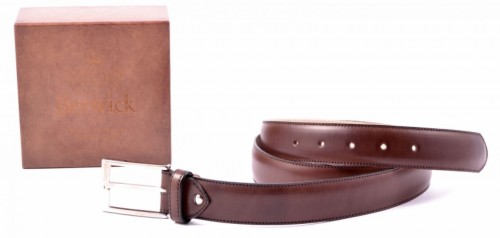 Pasek, Berwick ,Dark Brown, 646,belt, mancalf,