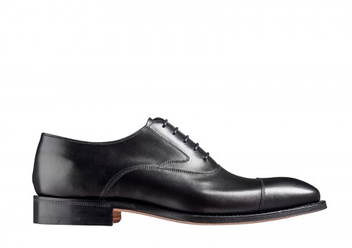 Barker Falsgrave Black Calf Oxford