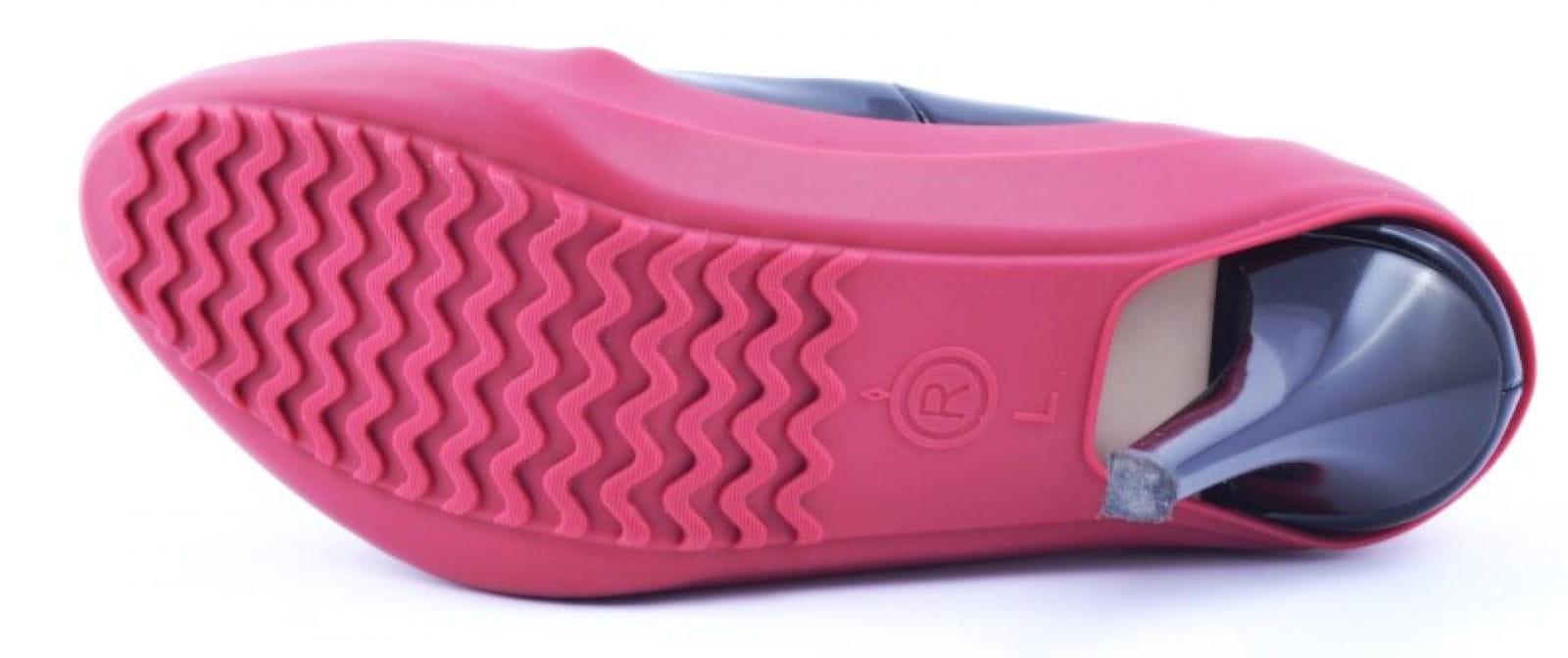 Ochraniacze na obuwie damskie Żółte Klasyczne Buty